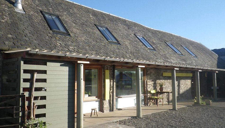 West Moss-side barn and hayloft given a new life