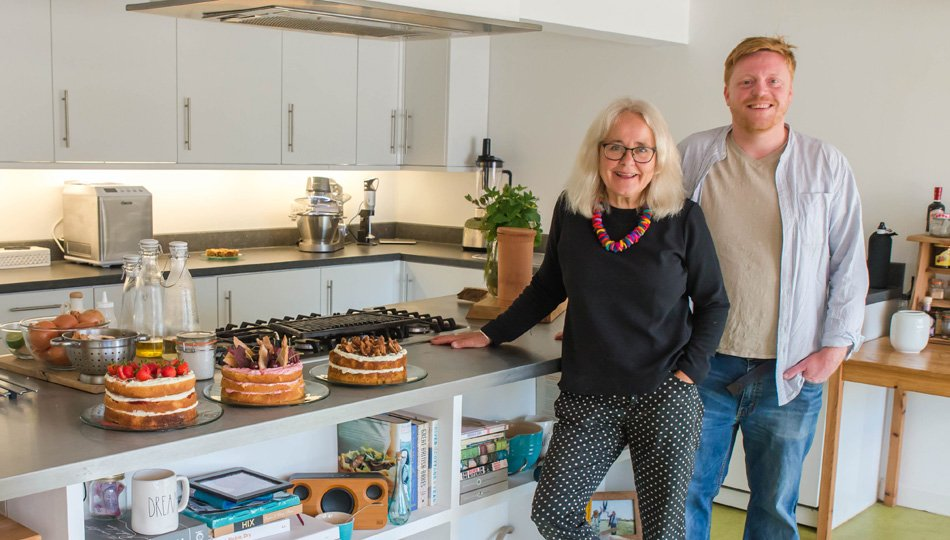 Fertile Ground's Kate Sankey and Andrew Barrowcliffe