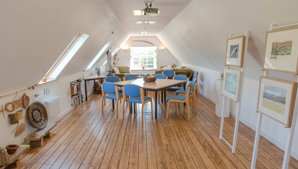 The light and airy Hayloft at West Moss-side